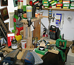 photo of reloading area